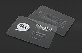 Κάρτα με Plexiglass